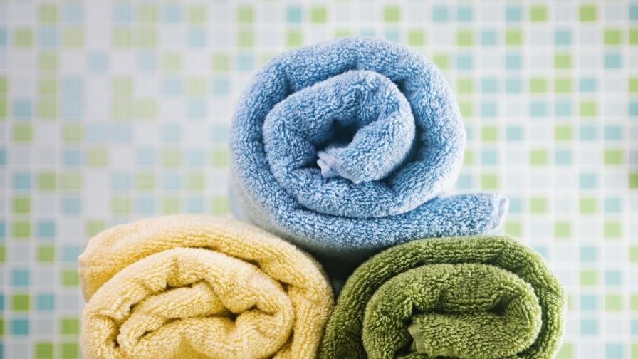 Хавлиените кърпи крият повече бактерии от тоалетната чиния