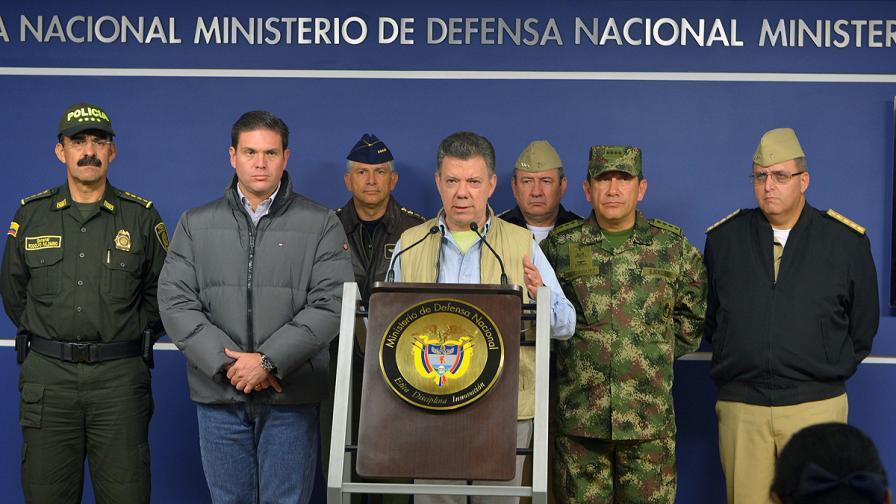 Колумбия спря преговорите с ФАРК заради изчезнал генерал