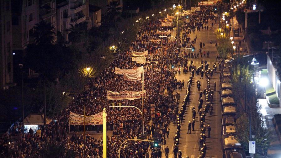 Гърция: Ранени и арестувани след демонстрация в Атина
