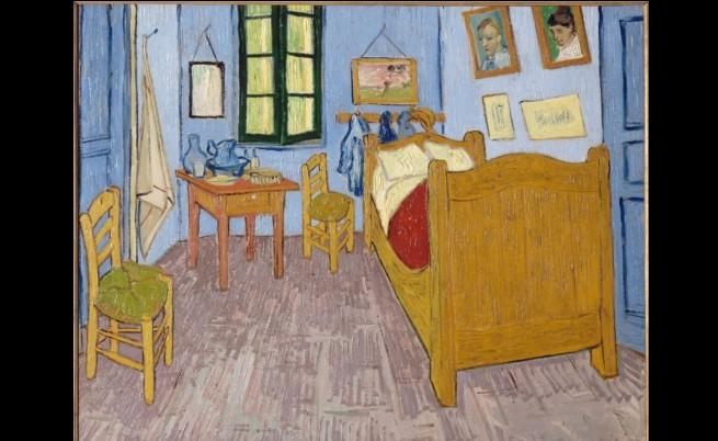 """Картината """"Стаята на Ван Гог в Арл"""""""