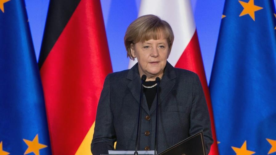 Ангела Меркел: В Европа не може да има сигурност без Русия