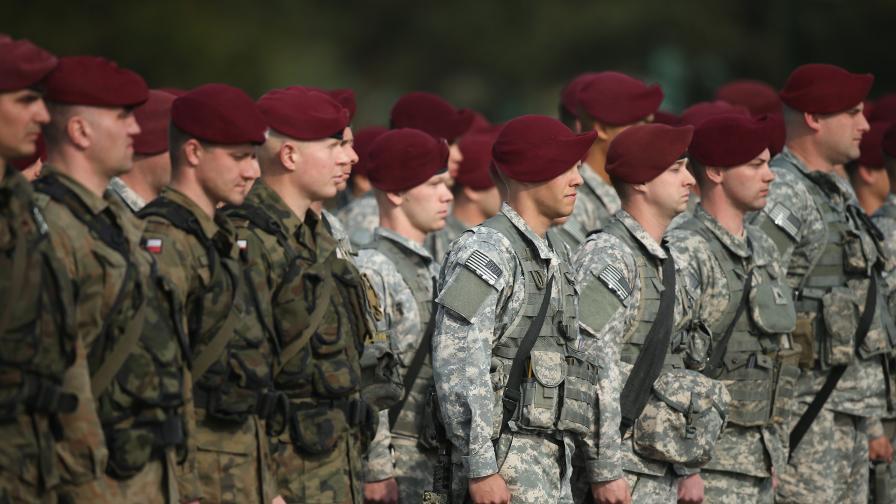 Войски на САЩ остават в Полша, Литва, Латвия, Естония