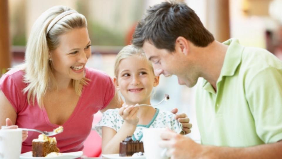 Пълнотата на детето зависи от характера на родителите