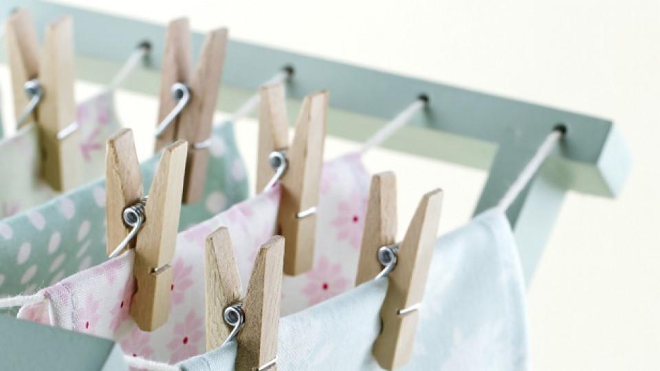 Как да се отървем от чорапеното чудовище и други идеи за прането