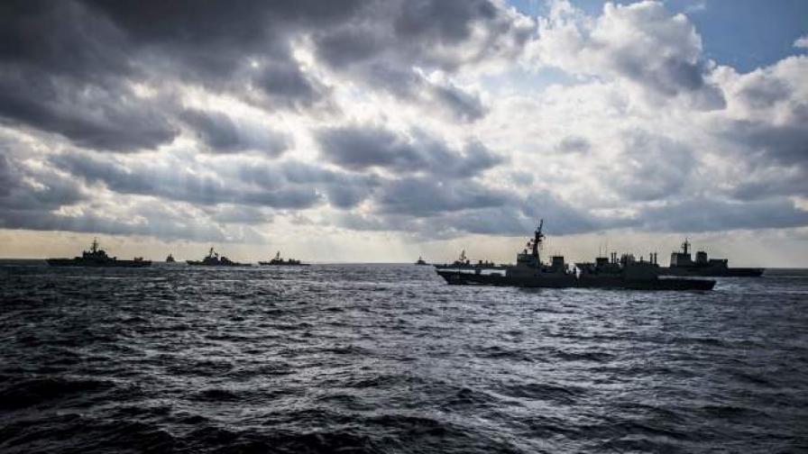 Маневри на руски кораби в Ламанша