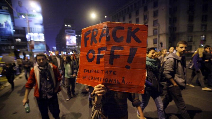 Протести срещу добива на шистов газ има в цяла Европа