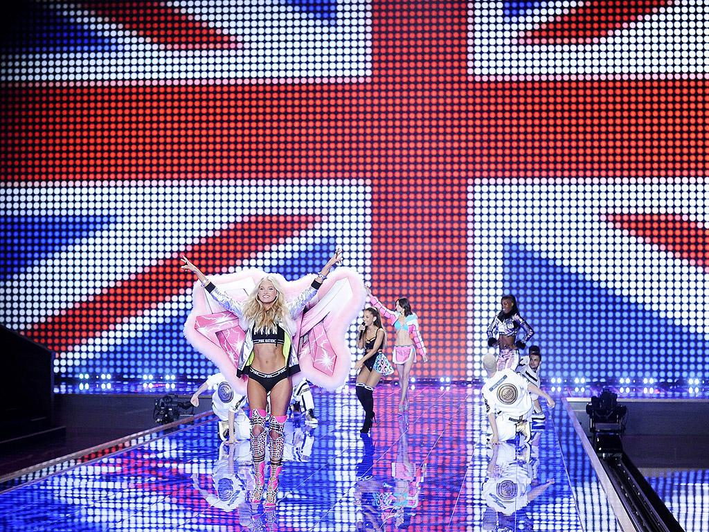 Шоуто на Виктория Сикрет в Лондон 2014