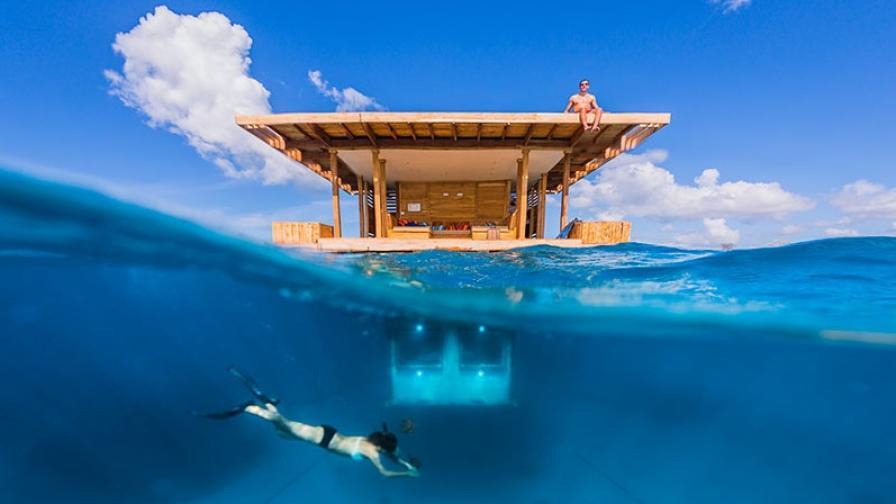 Петзвезден подводен свят на остров Пемба