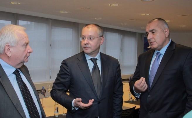 Борисов и Станишев обсъдили Шенген и