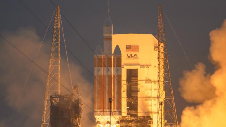 """НАСА тества успешно космическия кораб """"Орион"""""""
