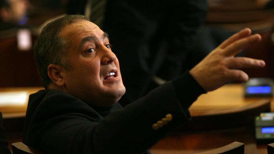 Слави Бинев в Народното събрание