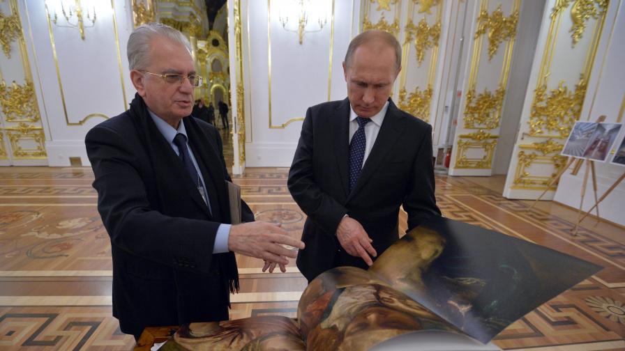 """Путин подари """"Фаберже"""" за $18,5 млн. на Ермитажа"""