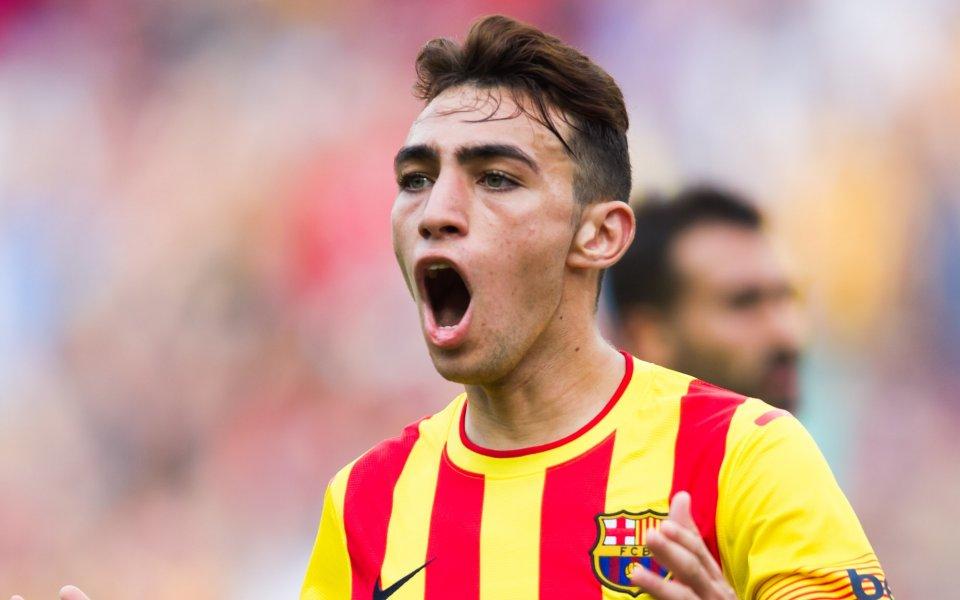 Барселона преотстъпи нападател на Валенсия