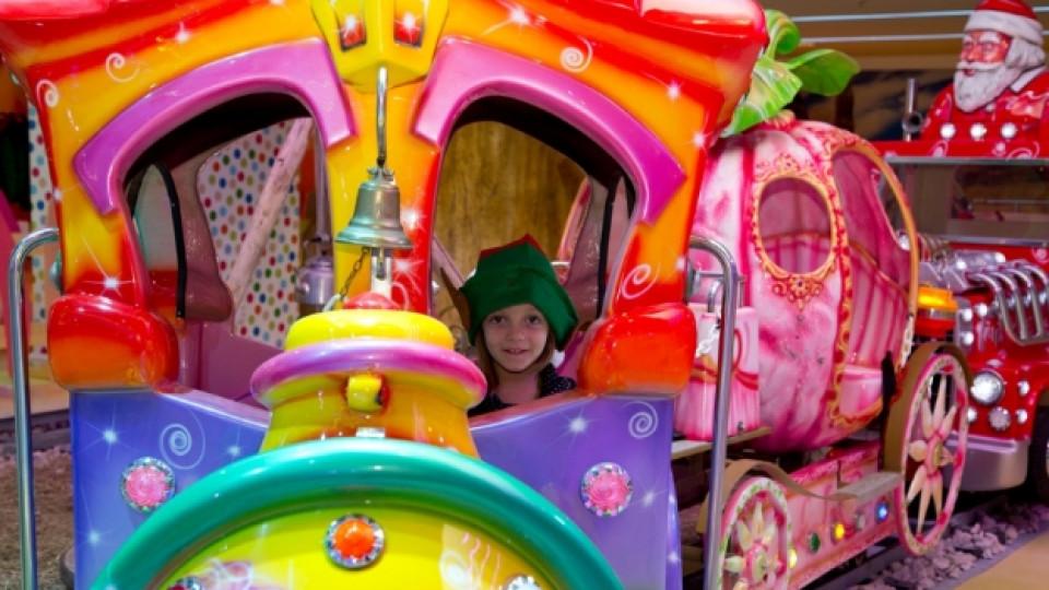 Класически забавления за деца в най-големия увеселителен парк