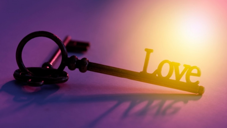 ключ любов сърце