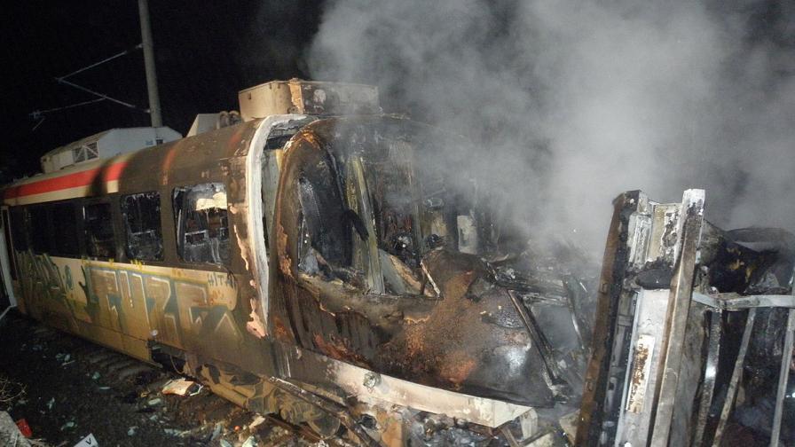 БДЖ ще награди машиниста от инцидента с изгорелия влак