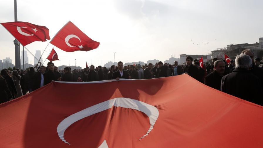 Турски министър: Осуетихме опит за държавен преврат