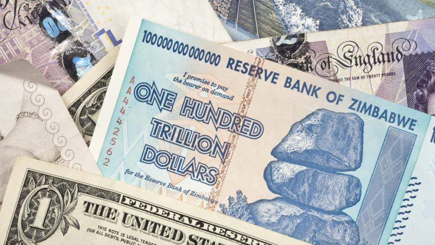 Зимбабве: Специални монети вместо химикалки и сладки