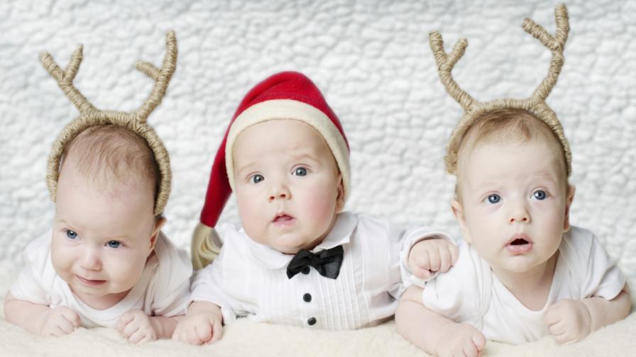 Да кръстиш детето си Весела Коледа или Еленът Рудолф