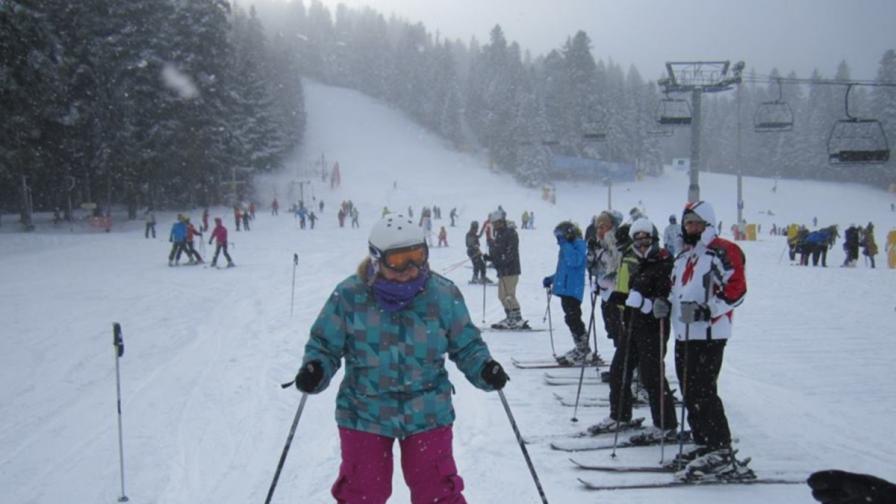 Прекрасни условия за ски предлагат големите ни курорти