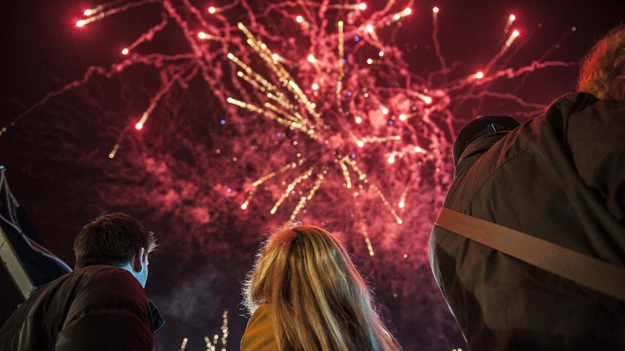 В София посрещат Нова година с концерт на открито