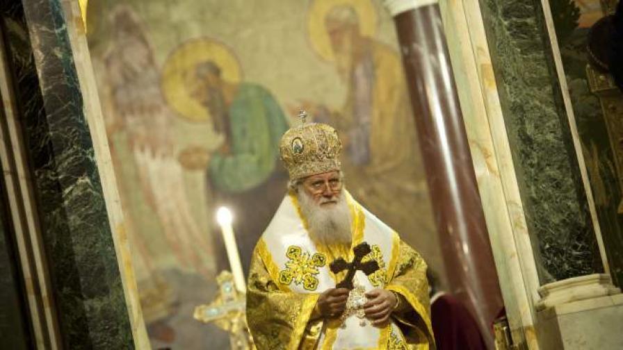 Патриарх Неофит на днешната литургия