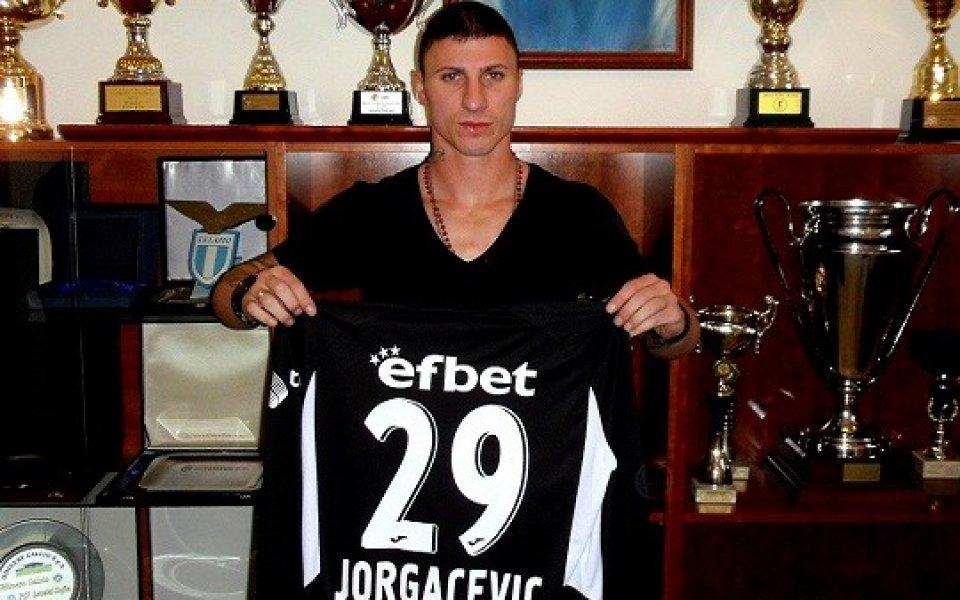 Йоргачевич подписа официално с Левски