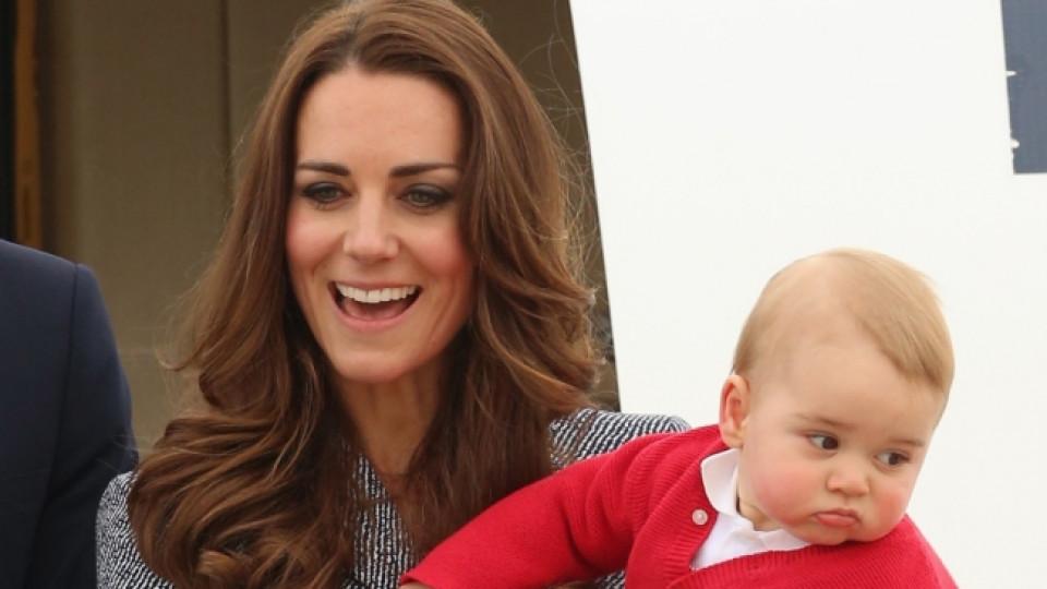 Кейт Мидълтън и синът ѝ Джордж