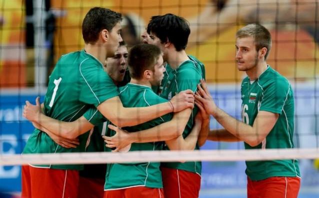 Младежкият национален тим по волейбол източник: volleyball.bg