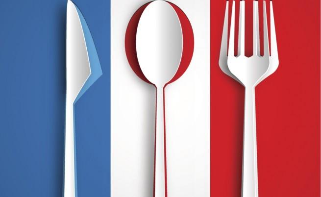 Забравете за ножа, когато похапвате салата във Франция