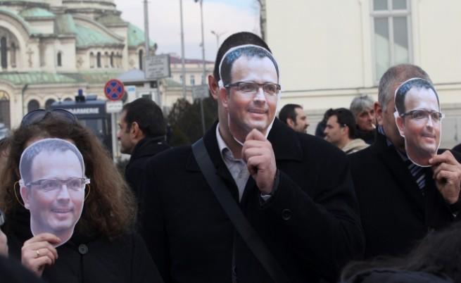 Журналисти протестираха срещу КФН