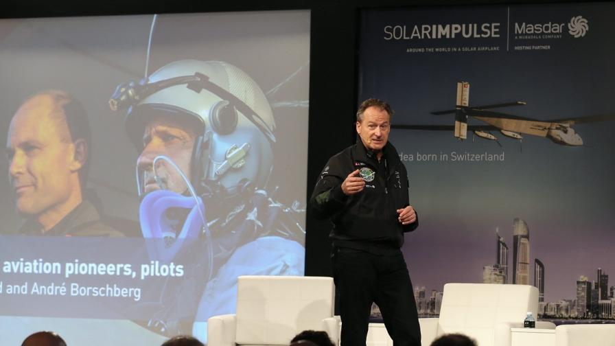 Соларен самолет ще обиколи света в 12 етапа