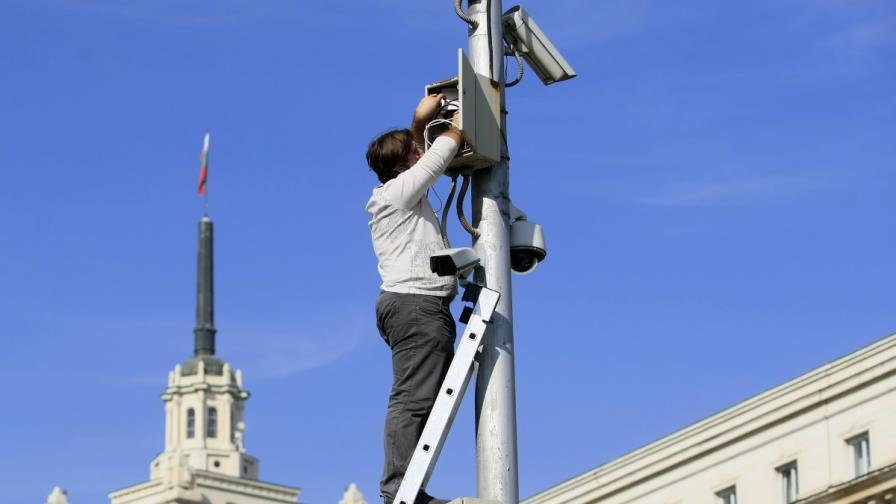 Още 103 обекта ще бъдат включени в системата за видеонаблюдение на Столичната община