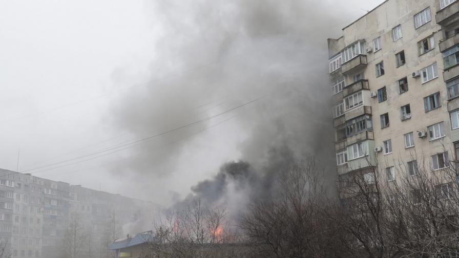 27 души са загинали в ракетната атака срещу Мариупол