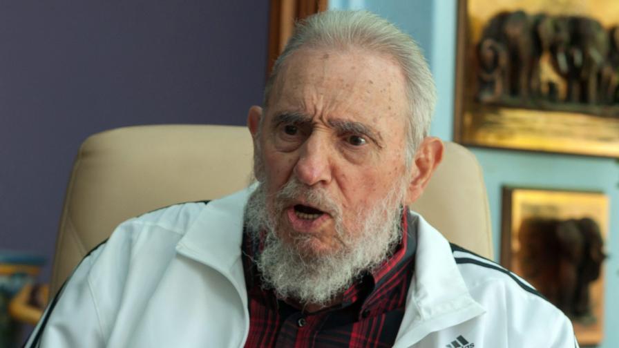 Фидел Кастро благодари на руския патриарх