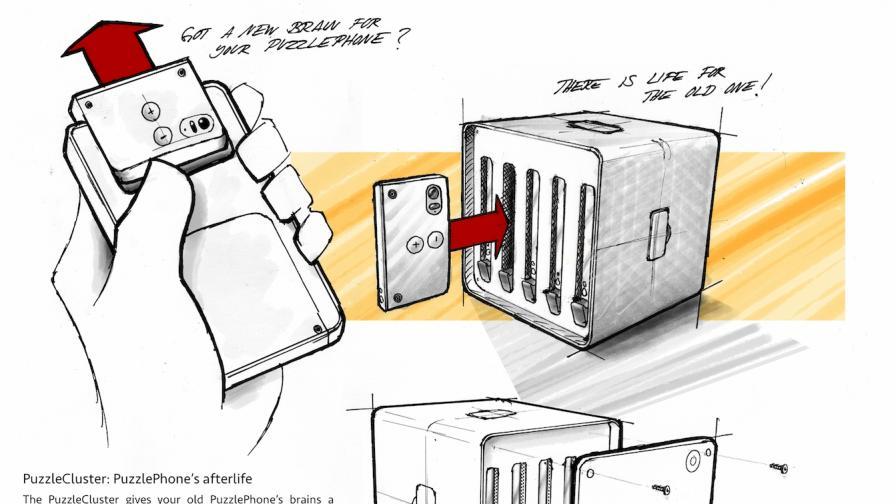 Puzzlecluster – суперкомпютър от старите ни телефони