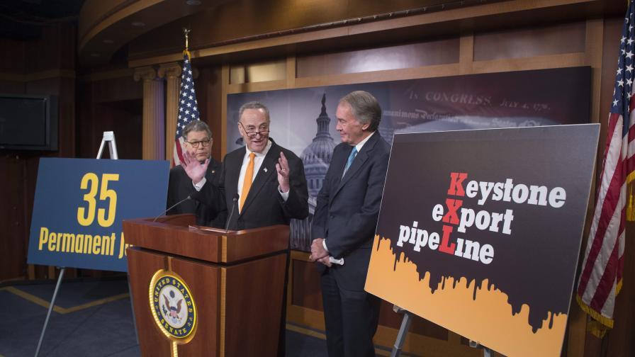 Сенатът на САЩ прие законопроекта за спорен петролопровод
