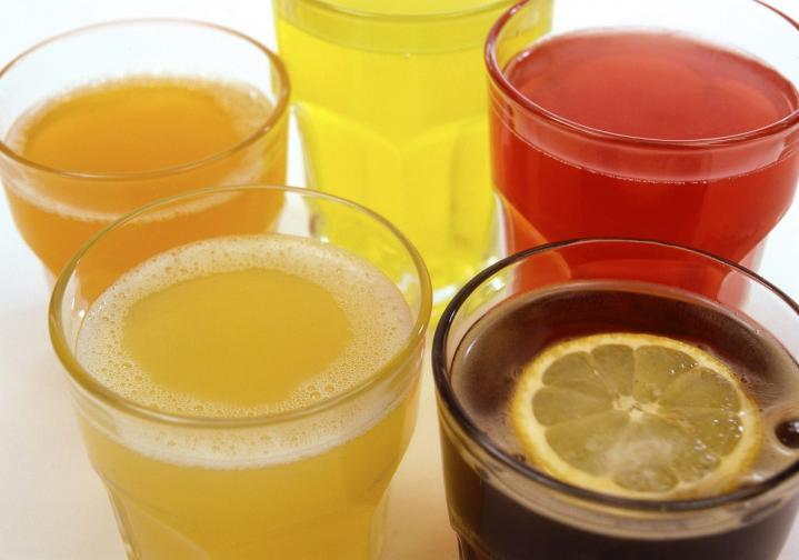 сокове сок газирани напитки