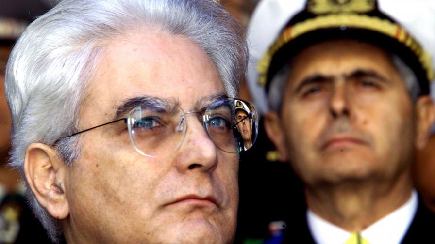 Кой е новият президент на Италия Серджо Матарела