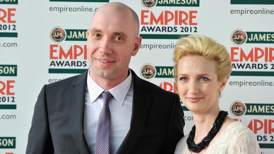 Захари Бахаров и съпругата му