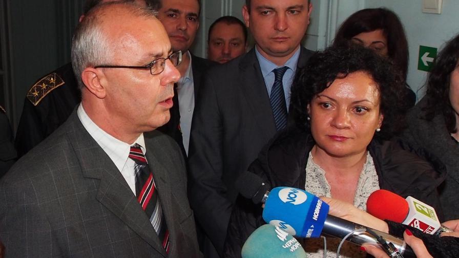 Веселин Вучков и Ивелина Василева във Варна