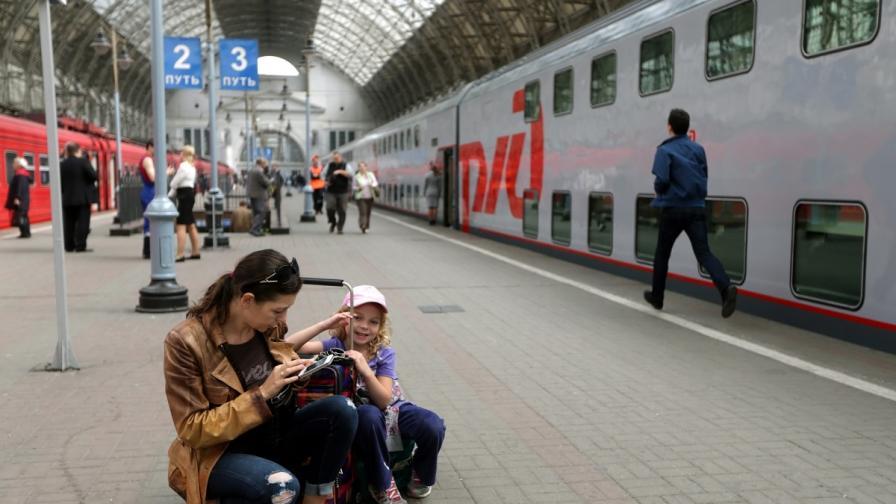 Русия ще модернизира френските нощни влакове