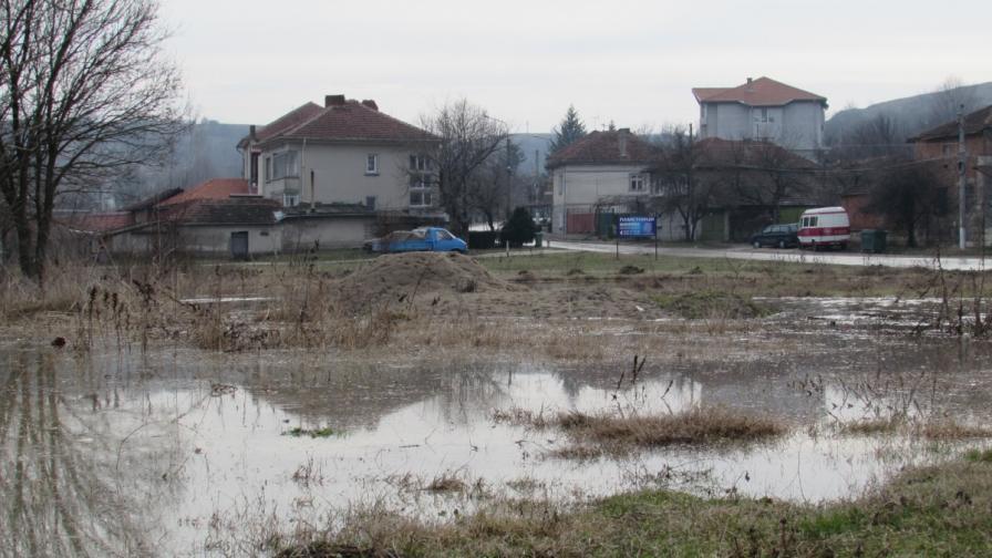 Река Русенски Лом преля при село Басарбово