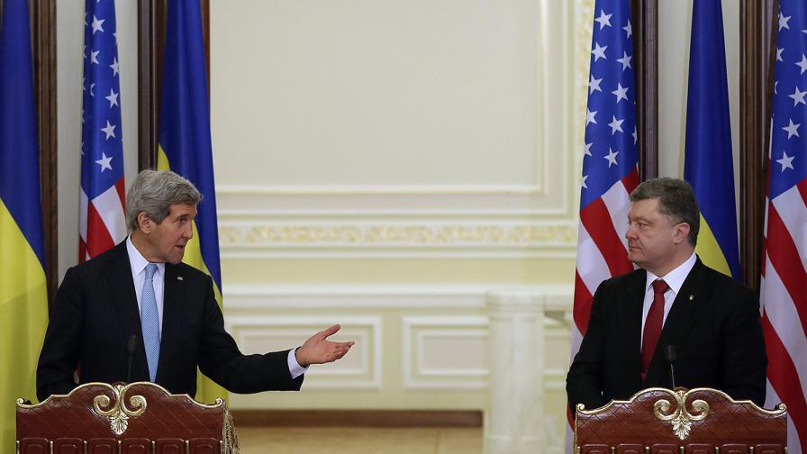 Джон Кери: Най-голямата заплаха за Украйна е продължаващата руска агресия