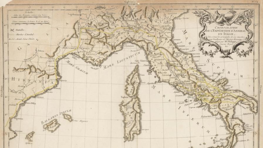 В Испания откриха следи от картагенската армия на Ханибал Барка