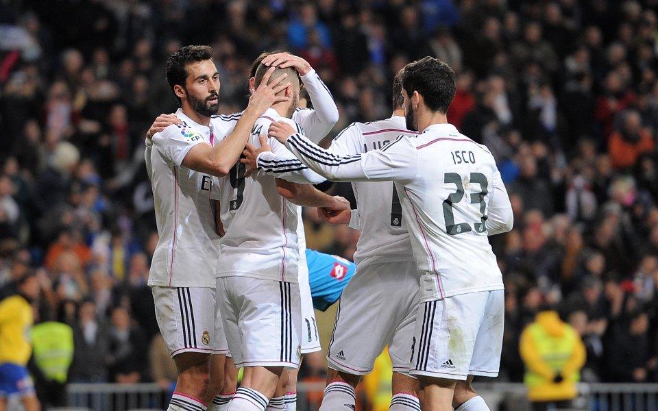 Реал се върна на победния път след успех над Депортиво