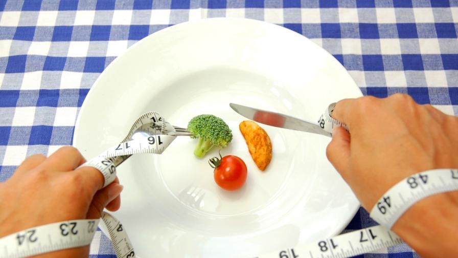 Ударните диети имат временен ефект