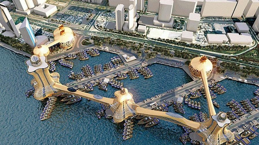 Дубай ще строи висящ над водата град на Аладин