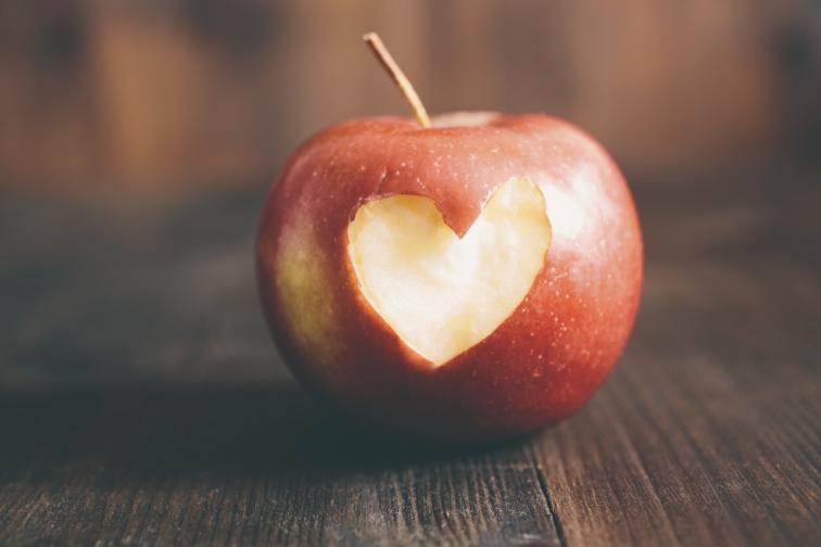 сърце ябълка здраве плод
