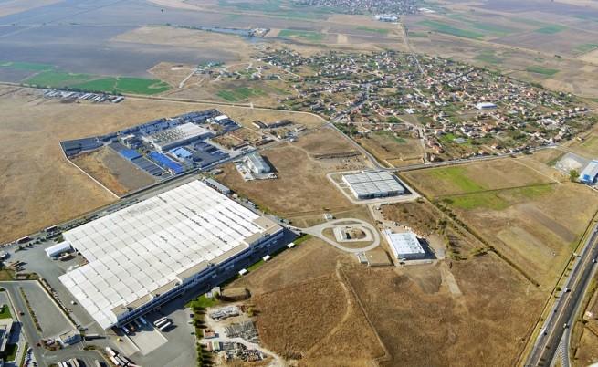 """Част от индустриалната зона """"Марица"""""""